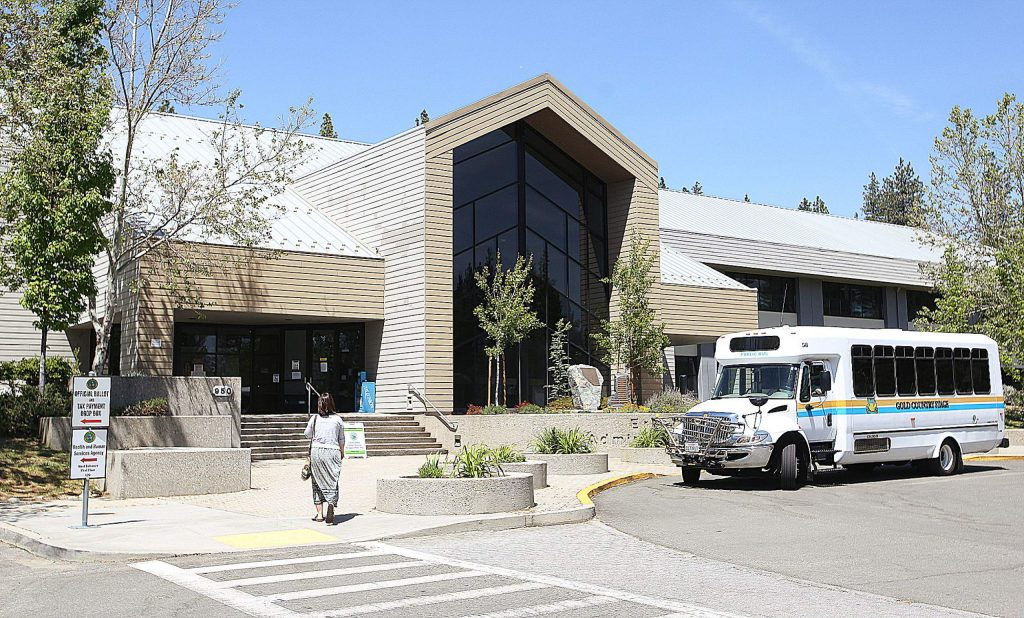 Limited services are being offered to the public from the county's government offices at the Eric Rood Administrative Center in Nevada City.