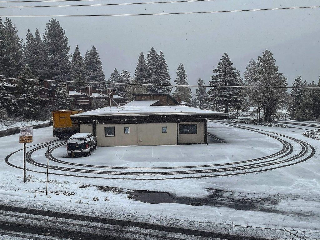 Mid-May snowstorm doesn't slow down Squaw Valley Delivery.