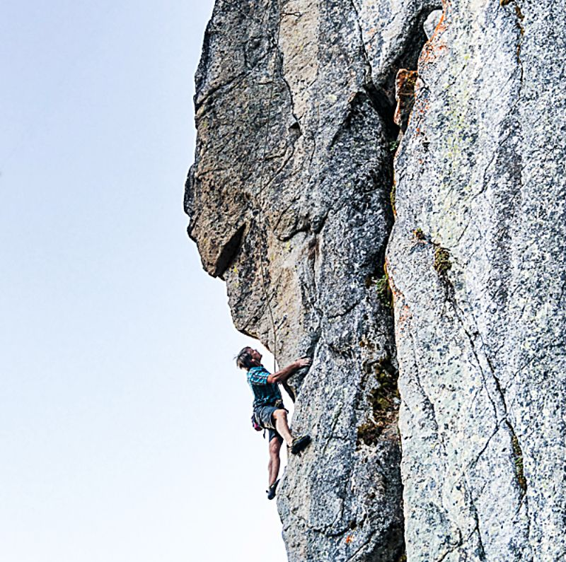 Climbing has grown in popularity over the last decade.