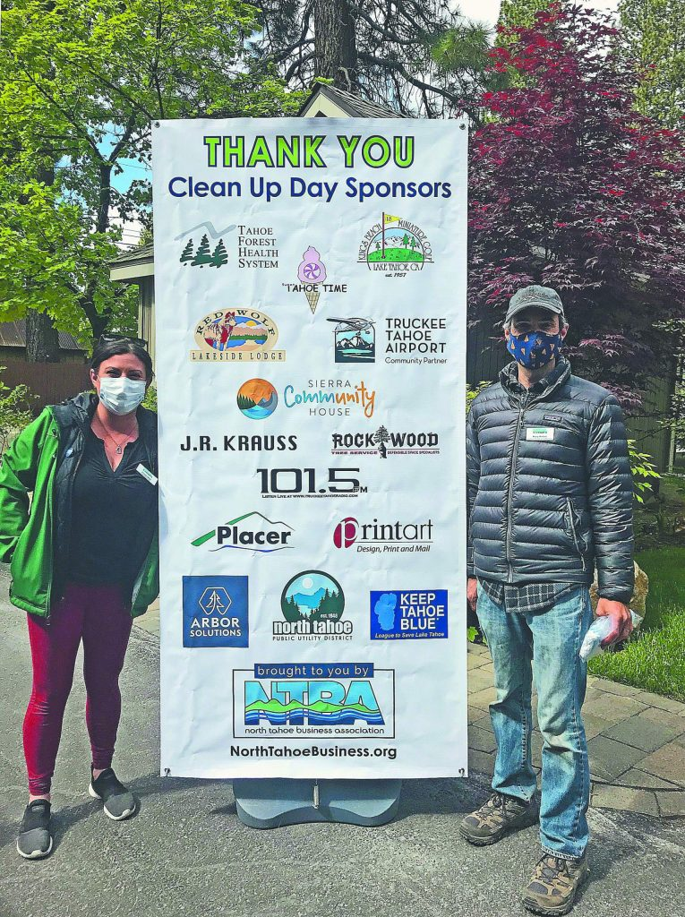 For North Tahoe Business Association's 25th annual Clean Up Day local young artists were asked to create artwork that highlighted the spirit of keeping our community beautiful. Posters created from the winning piece are used to promote both NTBA Clean Up Days.