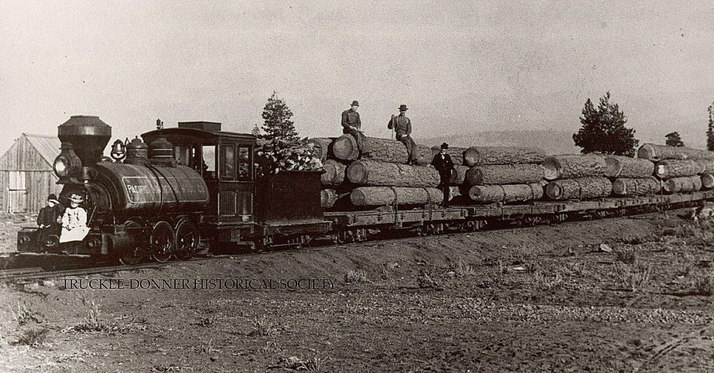 The wood from the Sierra Nevada helped keep steady employment in the area. Early logging enterprises were from Joseph Gray, George Schaffer, EJ Brickwell, Elle Ellen, George Geisendorfer, and others. From 1864-1869 there were at least 13 operating mills in the Truckee area.
