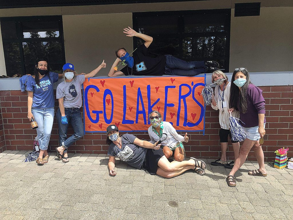 Staff from North Tahoe School saying goodbye Lakers and Happy Summer!