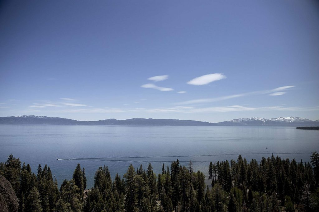 Lake Tahoe's average clarity decreased from 70.9 feet in 2018 to 62.7 feet in 2019.