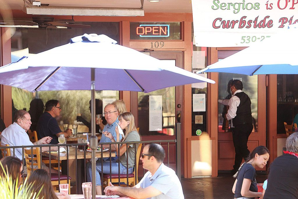 Sergio's Caffe in downtown Grass Valley was one of a handful of area businesses to reportedly receive a fine from the Nevada County Environmental Health Department. Fines for being in violation begin at $25 a day and go up to $1,000 a day.