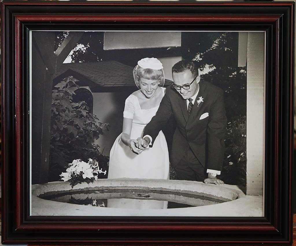 John and Jean Sproehnle celebrated their 60th wedding anniversary July 3. They fell in love and were married at Carmel by the Sea soon after meeting at the 1960 Winter Olympics.
