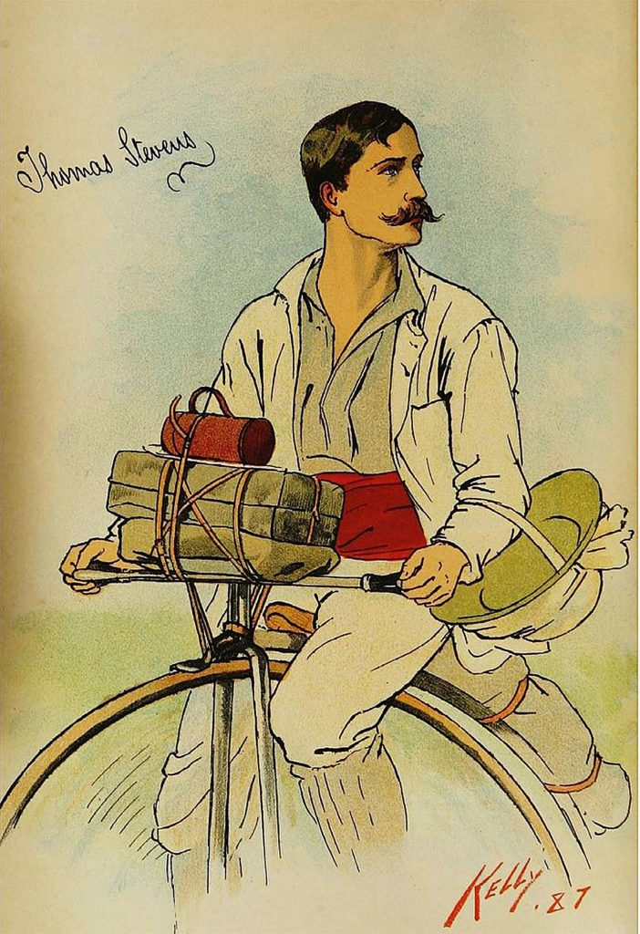 HISTORY: The first bicycle trip across the Sierra