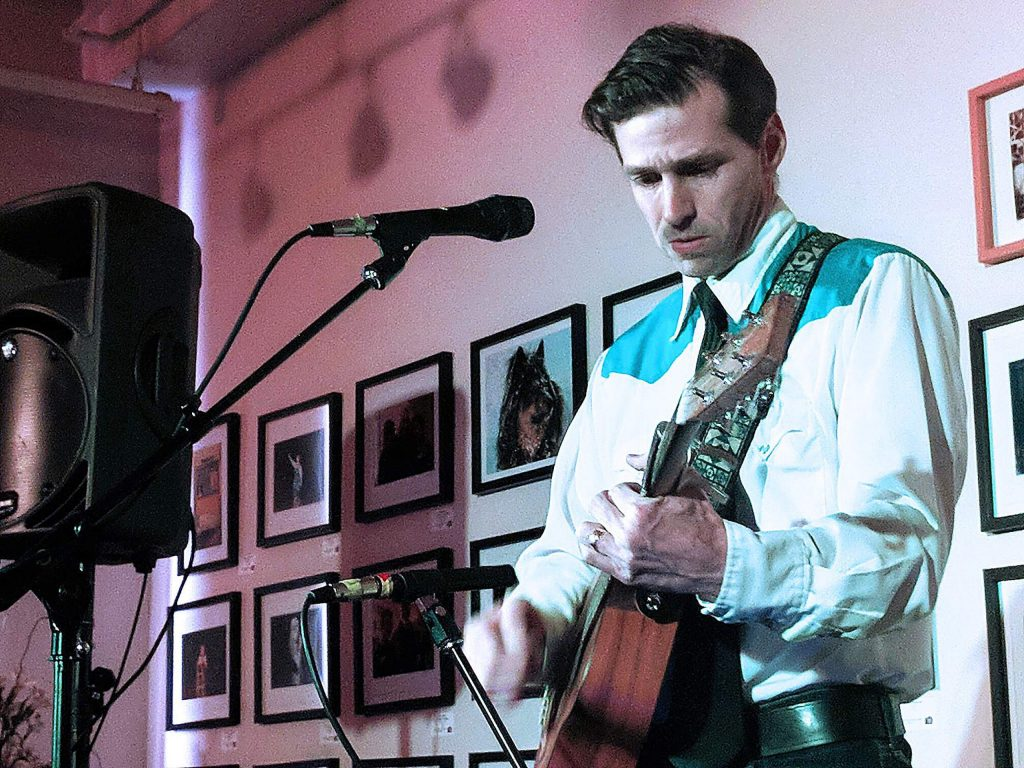 Nevada City musician Brett Shady will be performing during the What a Relief! festival Sunday.