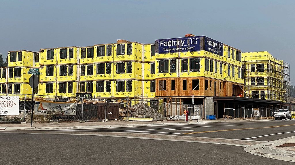 Housing units under construction include the Truckee Artists Lofts, the first approved project within the Railyard Master Plan Area in 2016, among others.
