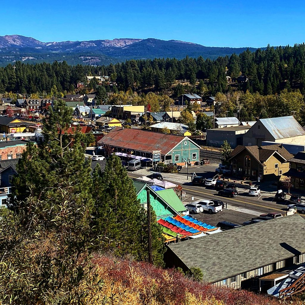 Truckee on any given day.