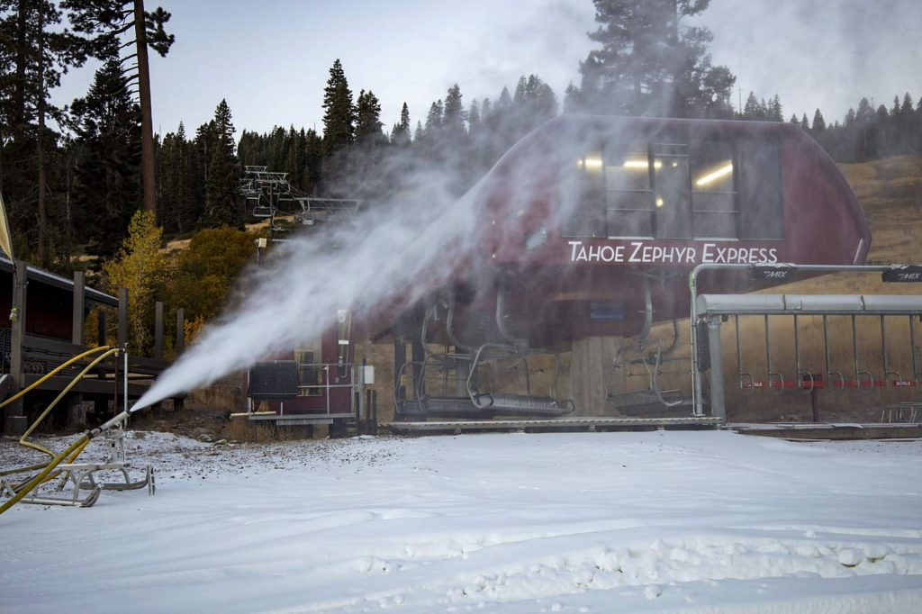 After an abrupt end to the 2019-20 ski season, resorts made tangible moves this week to prepare for the winter ski season. Snowmaking has started at Northstar in North Lake Tahoe.