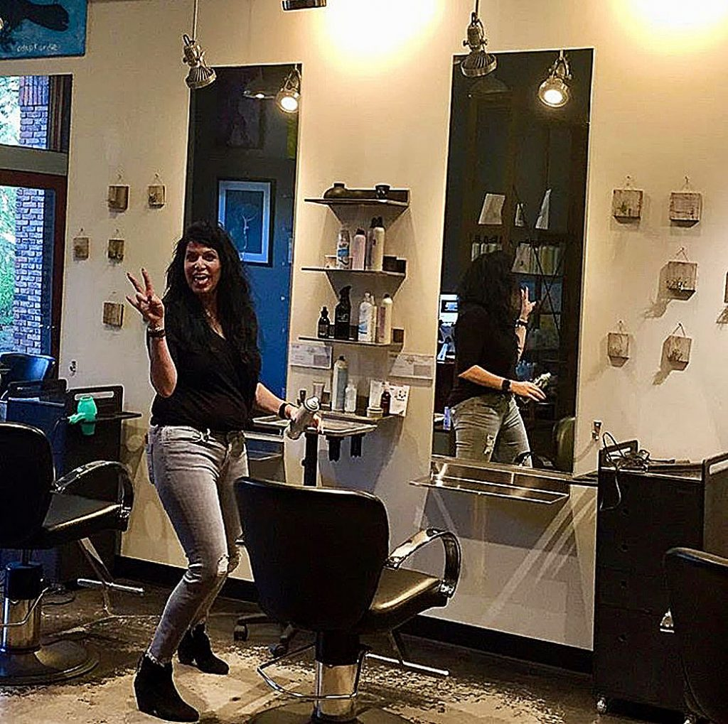 Melissa Cox sold her business, the Truckee hair salon Coupe Sixty-One, and is moving to Mexico.