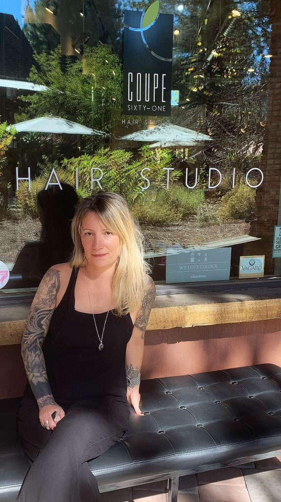 Anna Larson., who owned and operated a salon in Maui, said she was grateful to be in a position to seize this opportunity and continue Coupe Sixty-One's operations.
