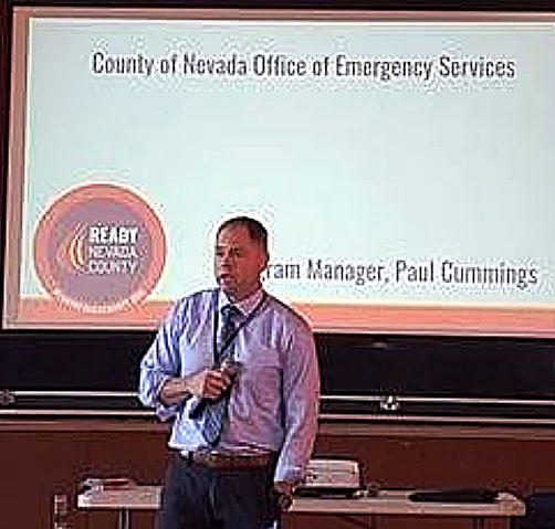 Paul Cummings is a retired military officer who interned with Nevada County for five months before he was hired as the county's Office of Emergency Services program manager.