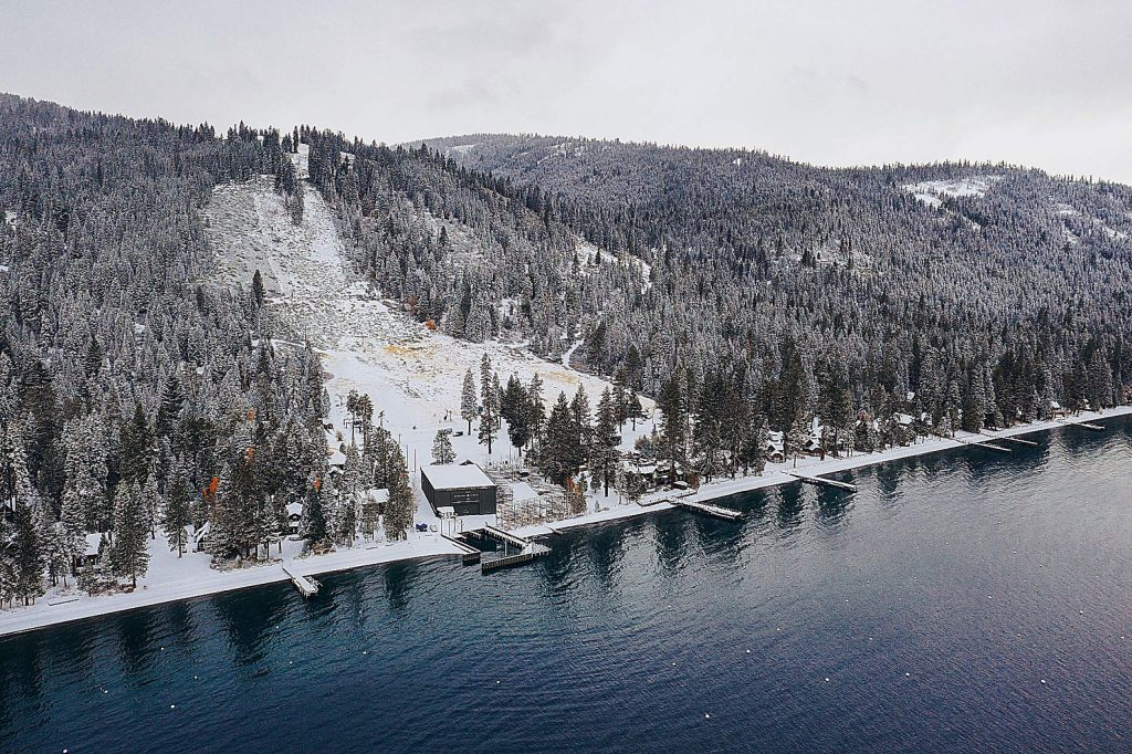 Homewood Mountain Resort received 9 inches of snow at its summit over the weekend. Squaw Valley Alpine Meadows said on Sunday it picked up an overnight total at Alpine Meadows of 7 inches at the base and 9 inches at the summit.