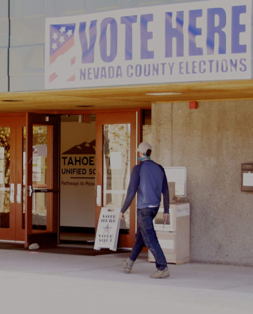 Officials at Truckee's two voting sites said Tuesday was the busiest of four days of voting.