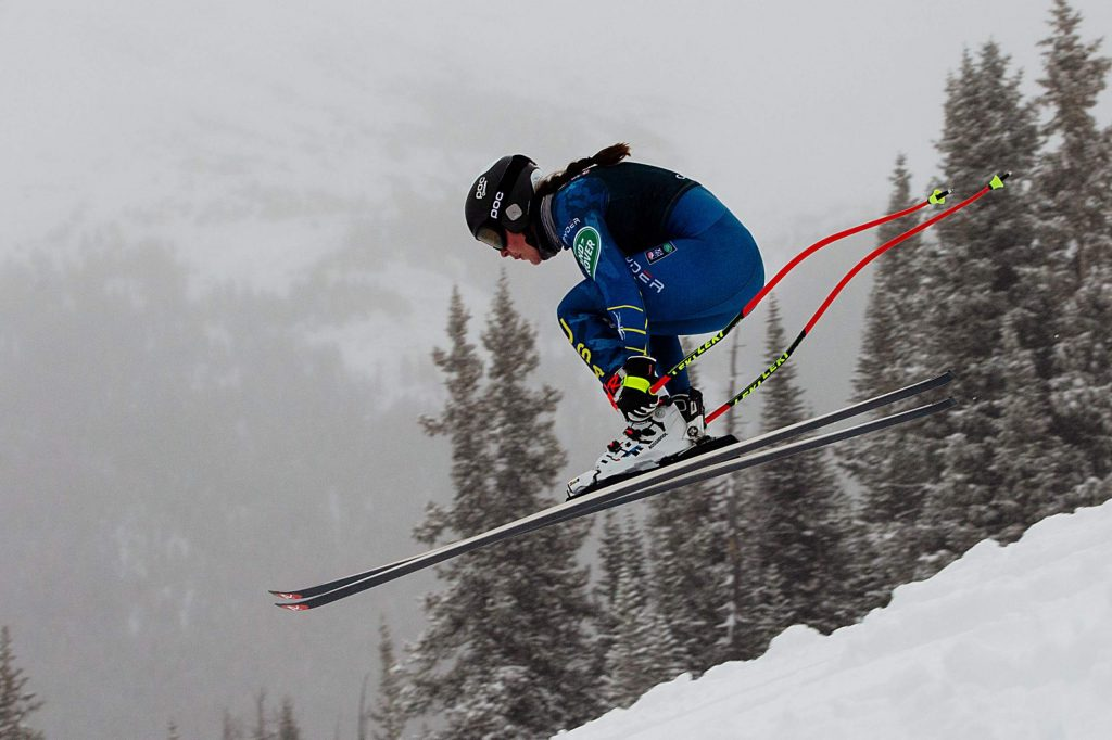 Squaw Valley's Keely Cashman was among the local skiers selected to compete on the U.S. Alpine Ski Team this season.