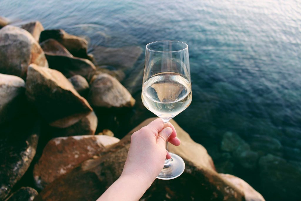 Wine tasting in Lake Tahoe is not reserved for just the summer months.