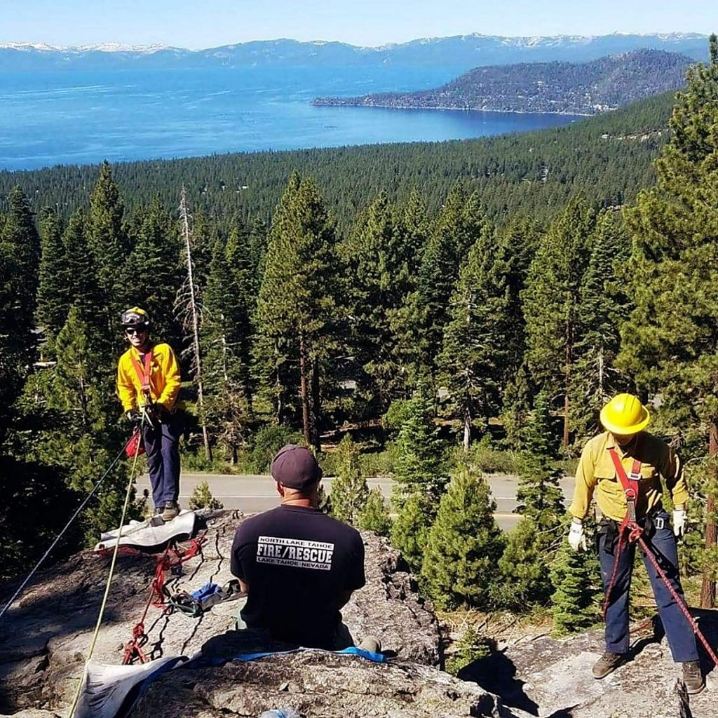 North Tahoe Fire Protection District Public Information Officer Erin Holland used her time to talk on the district's defensible space inspections, which will remain open as long as conditions allowed.