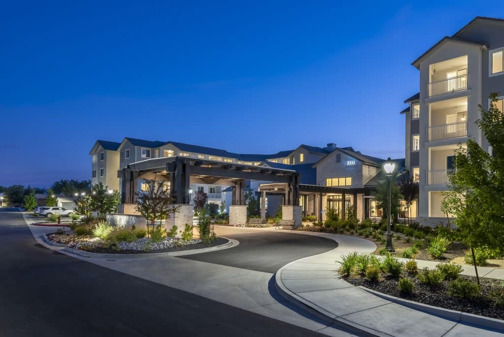 Revel Rancharrah is a vibrant independent living community in Reno that provides best-in-class amenities and services to its residents. Photo Courtesy Revel Rancharrah.